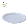 "disposable biodegradable 9"" plate for party"