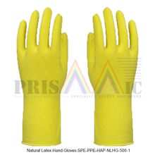 Natural Latex Hand Gloves