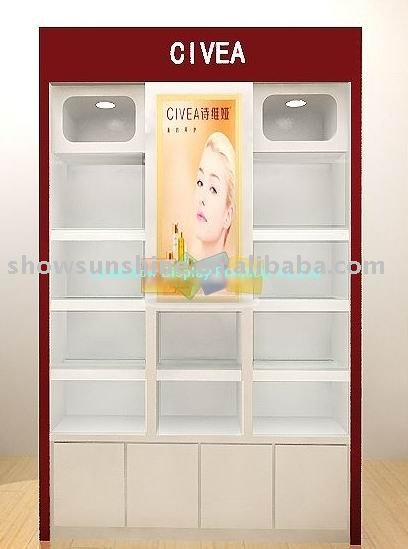 Cosmetic display stand shoe racks for store