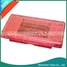Pink Crystal Case Cover+Screenguard For Nintendo DS Lite