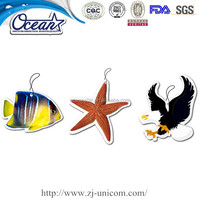 Promotional Hanging Paper Air Fresheners/Custom Paper Car Air Freshener/Funny car air freshener