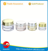 Alibaba China round plastic jar cosmetic/ empty cosmetic sample containers/5g 50ml cream jars cosmetic