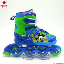 2017 popular patines rollerblades for kids images pu wheels guide rollers professional skates industrial