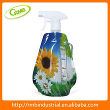high quality foldable spray plastic water bottle(RMB)