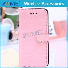 PU Leather Matte Skin Magnetic Flip Case For iPhone 5/5S Phone Bag Wallet Style Stand Holder Card Slot Cover