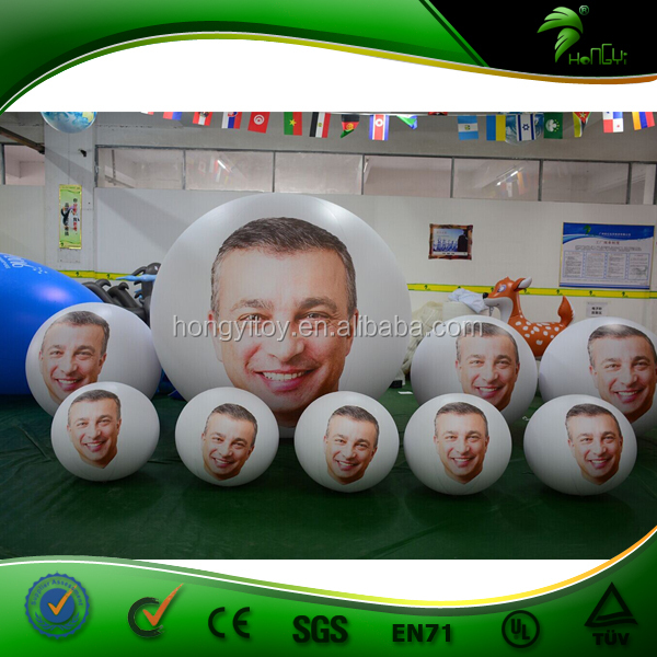 Best Quality Custom Logo Printed Inflatable Big Beach Ball / Promotional PVC Inflatable Beach Ball
