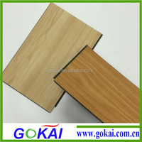 Indoor wood grain PVC vinyl floor /pvc fireproof floor