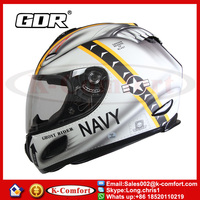 KCM1634 Full Face Motorcycle Helmet Moto Cross Casque Casco Capacete with Clear Lens GDR Helmets