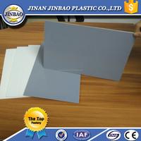 Jinbao plastic board 3mm 5mm 8mm 1220x2440mm rigid pvc sheet
