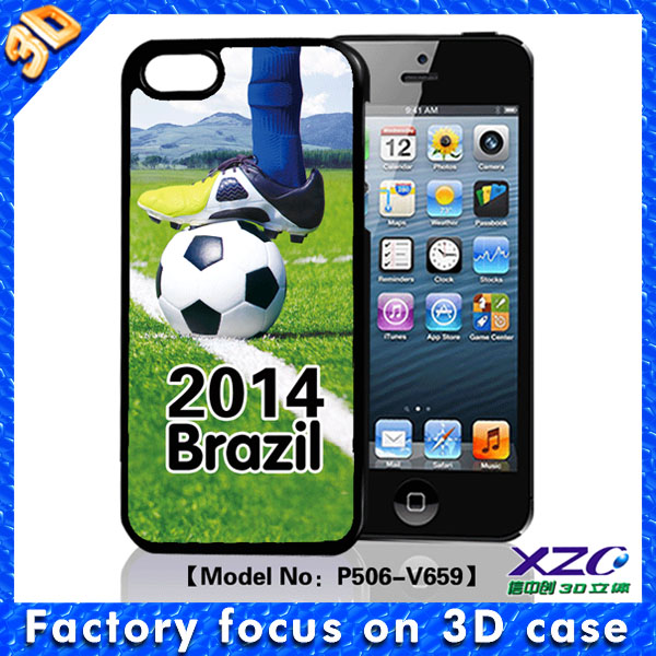 world cup 2014 phone case for lg leon c40 with 3d stereo effect