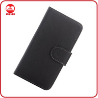 Cheap Book Design PU Wallet Case for HTC ONE M7 Stand Cover