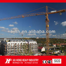 CE,ISO certificated Beijing Jiuhong Brand flat top QTZ tower crane