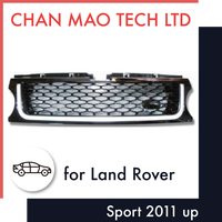 Chrome Front Grill For Land Rover L320 Range Rover Sport 2011 up