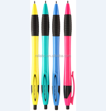 New Fashion Hot sale Crystal Plastic Ball Pen Office Accessory Material Escolar Beautiful Cheap School Supplies Ballpoint Pen