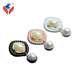 More Colors Painting Zinc Pearl Metal Garment Pendant