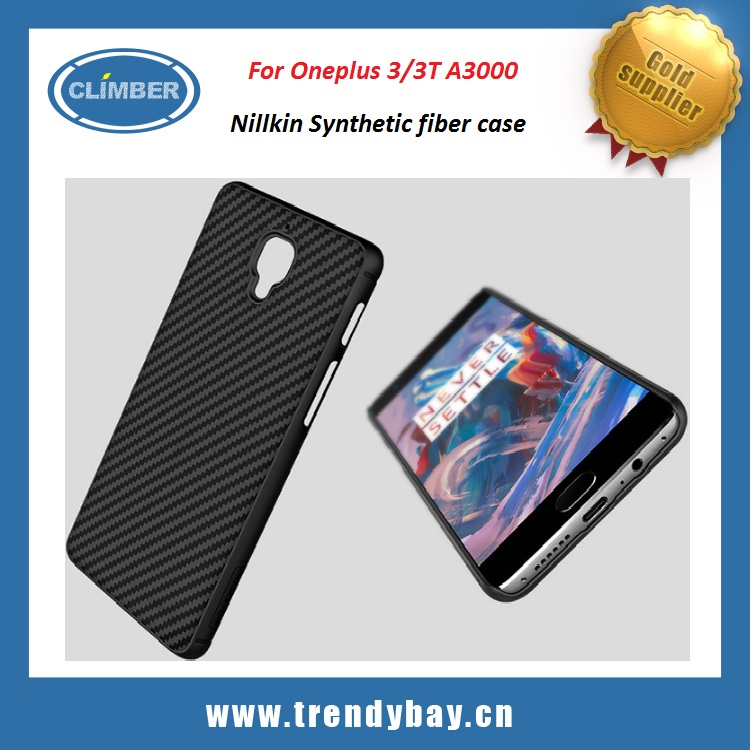 Nillkin Synthetic carbon fiber phone cover For oneplus 3 /3T A3000 case