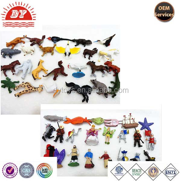 Series Animal Model Mini Figures toys For Kids made in china promotional item