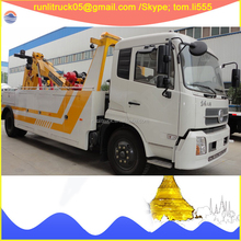 China tow truck supplier direct sale for DFL1160BX5 dongfeng kinrun 6*4 12tons rotator wrecker truck for sale in chile