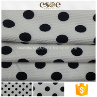China supplies jacquard polyester spandex printed jersey fabric