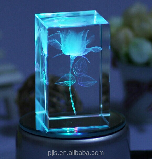 Led Light Base Crystal 3d Laser Engraving For Wedding Souvenir - Buy 3d Laser Crystal Engraving,3d Laser Engraving For Wedding Souvenir,Crystal 3d Laser ...