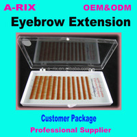 Faux Mink Eyebrow Extension;eyebrow filler and eye brow wig for eyebrow 1218