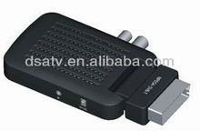 .2013 DVB-T android tv box Mini HD USB Receiver Scart dvb-t mpeg4 tv decoder box