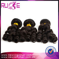 5A 18inch Loose curl Can provide large stock virgin malaysian hair vendors