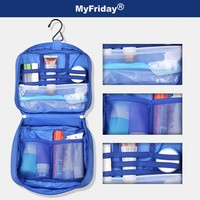 High quality soft waterproof large capacity contents cosmetic bag