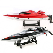 Feilun FT012 Upgraded FT009 2.4G Brushless RC Racing Boat Red
