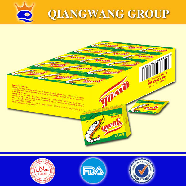 Shrimp Bouillon Cube shrimp seasoning paste