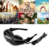 Virtual Digital Portable Video Glasses Personal Theater Widescreen with 3D Stereo Sound for TV BOX/ PSP