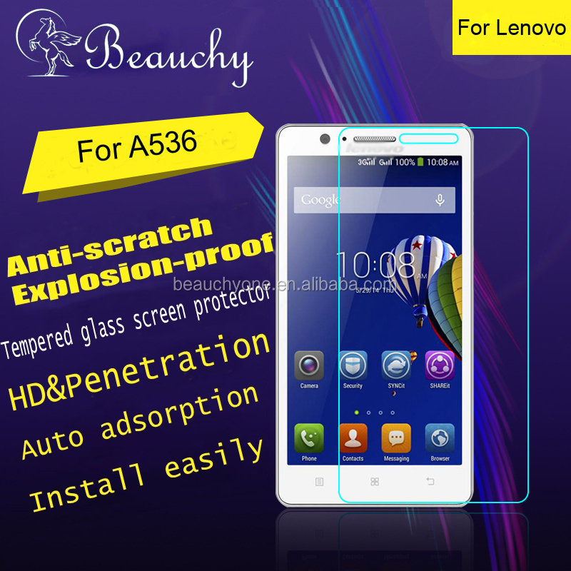 2016 Beauchy tempered glass screen protector for android lenovo A536