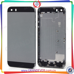 Oem back cover for apple iphone 5, back cover for iphone 5 housing back cover replacement