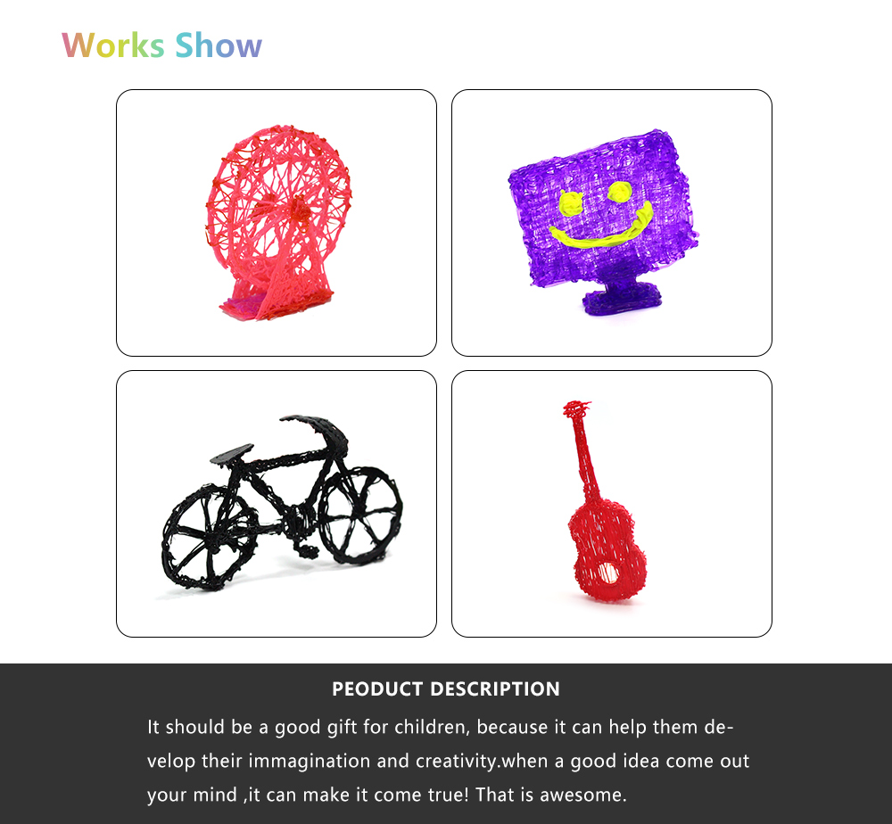 Customized cheap 3d printing pen for kids with pla 3d pen filaent refills