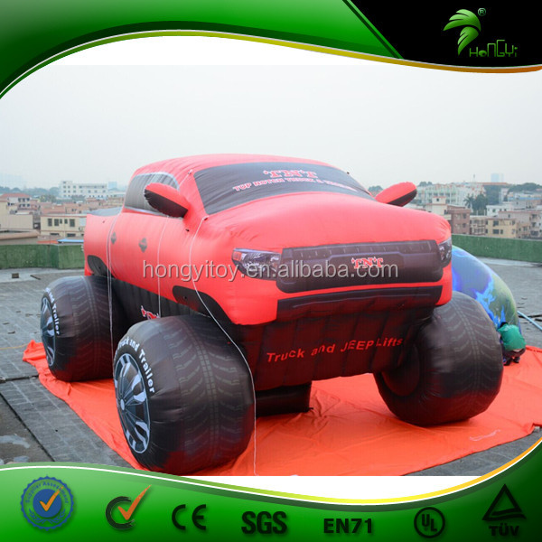 Advertising Inflatable Car Red Inflatable Car Model Giant Inflatable Car Air Balloon