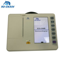 RC-ECG3306B Competitive price promotional CE approved cheap portable ecg 6 channel machine
