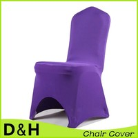 Wholesale high quality spandex chair cover arched base for wedding banquet hotel