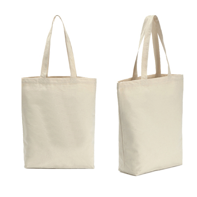 Fashion Custom Tote Bags No Minimum Blank Cotton