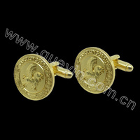 Mens Gold Cuff Links Wholesale