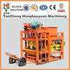 Famous factory price QTJ4-28 automatic concrete paving colorful cement brick block making machine price in india
