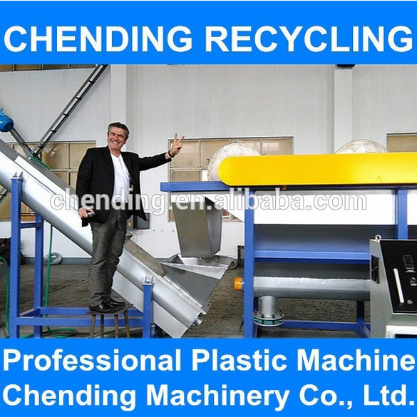 CHENDING PE/PP Plastic Film Cleaning Recycling line/Plastic Film Washing Machine Plant