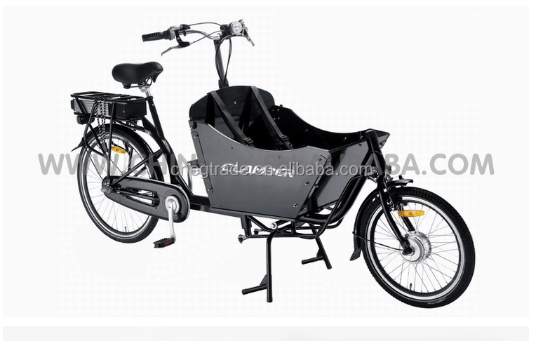 Children transport front loading cheap electric bike/cheap cargo bike electric