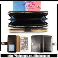 ZY-05 zipper case for S5 for Samsung galaxy S5 i9600 pu leather wallet for galaxy s5 wallet case