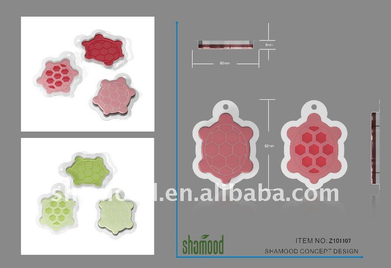 2013 New Shape 8ML Scented Membrane Air Freshener