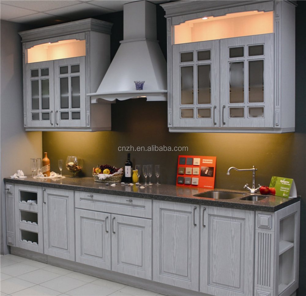 First choice pvc laminated kitchen cabinets design