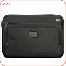 Two pockets front nylon laptop case
