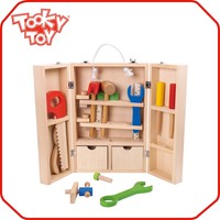 Wholesale Small Toy Carpenter Set Wooden Toy Box