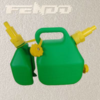 high quality safety plastic petrol jerry cans