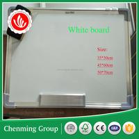 Aluminum frame dry erase one / two sides write board for university shcool