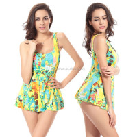 2015 Allover Print Sexy Lady Bathing suits